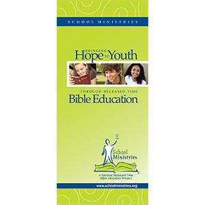 Bringing Hope to Youth through Released Time Bible Education Brochure